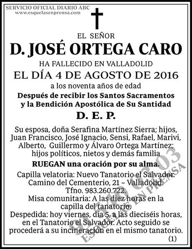 José Ortega Caro